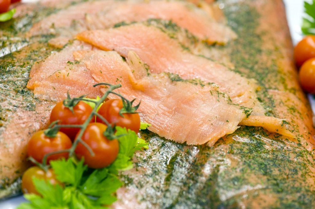 Salmone all'aneto - Gastronomia provincia Como